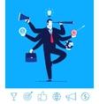 business concept Businessman vector image