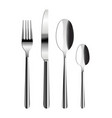 cutlery set vector image vector image