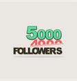 follower banner comic text pop art design vector image vector image