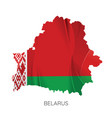 map belarus vector image