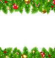 Retro Christmas Wall vector image