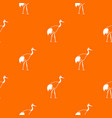 stork pattern seamless vector image vector image