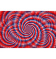 twisted tricolor background vector image vector image