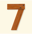 wood number wooden plank numeric font held
