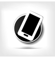 Phone web icon vector image