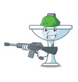 army cartoon sink in the kitchen room vector image