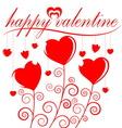 happy valentine vector image vector image