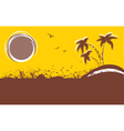 tropical backgroundAbstract image vector image vector image