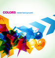 abstract stylish eps10 vector image vector image