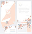 Company Branding Template vector image vector image