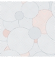 Pattern of circles vector image