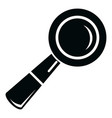 school loupe icon simple black style vector image vector image