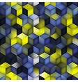 Seamless Multicolor Blue Yellow Gradient vector image vector image