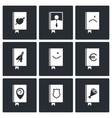 Specialized face book icon collection vector image vector image