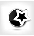 Star favorite web icon vector image