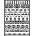 border set isolate vector image