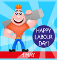 usa labor day vector image