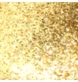 Abstract gold background with copy space EPS 8 vector image vector image
