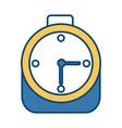 alarm time clock vector image vector image