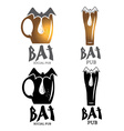 bat pub vector image