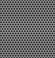 Chrome cell seamless background Design template vector image vector image