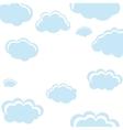 cloud shape pattern icon vector image