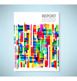 Cover report abstract geometric seamless pattern vector image vector image