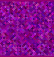 diagonal square pattern background - from squares vector image vector image