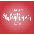 Happy Valentine s Day Hand Drawing Background With vector image
