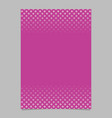 pink halftone geometric circle and square pattern vector image vector image