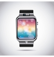 smartwatch technology design vector image