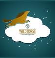 wild horse emblem