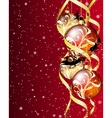 christmas background eps 10 with transparency vector image vector image