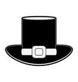 elf hat symbol vector image vector image