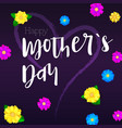 happy mother day greeting banner for your vector image vector image