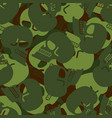 military texture skull army skeleton seamless vector image vector image