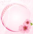 Wedding arrangement vector image vector image