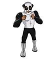 Wrestler Panda vector image vector image
