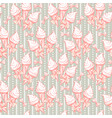 xmas sweets seamless pattern with ice cream for vector image
