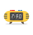 electronic alarm clock icon vector image