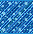 blue seamless geometric diagonal patterns with vector image