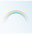 color rainbow spectrum light seven colors vector image vector image