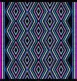 embroidery geometric seamless border vector image