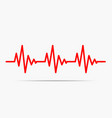 heartbeat icon - vector image
