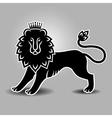 lion symbol standing vector image