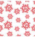 seamless pattern red symbol bacterium coronavirus