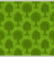 trees seamless vector image