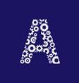 A letter gear logo