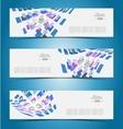 Elegant banner design template vector image vector image