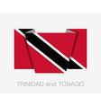 Flag of Trinidad and Tobago Flat Icon vector image vector image